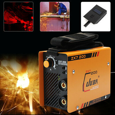 ZX7-200 Mini MMA ARC Welder DC IGBT Welding Machine Solder Inverter 220V Welders