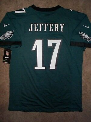 NIKE Philadelphia Eagles ALSHON JEFFERY nfl Jersey YOUTH KIDS BOYS (xl)