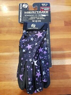 NEW Heritage Patterned Performance Gloves - 4 Fun Patterns - Sizes 5, 6, 7, 8