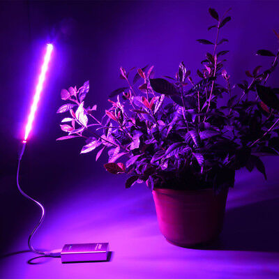27LED Grow Light Lamp Panel Quad-band Full Spectrum For Hydroponic Plant USB