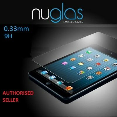 Nuglas Tempered Glass Screen Protector For iPad Air 2 3 4 Mini Pro 12.9/10.5/9.7