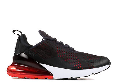 Sale Nike Air Max 270 Oil Grey Dark Habanero Red Ah8050 013 New White