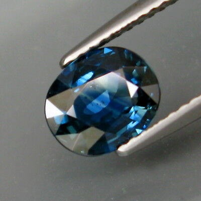 1.77Ct.Ravishing Color! Natural Blue UNHEATED Sapphire Africa Good Luster!