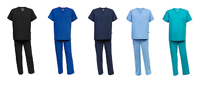 Premium Medical Scrubs - Surgical Nurse Hospital Uniform Dental Unisex Scrub Set