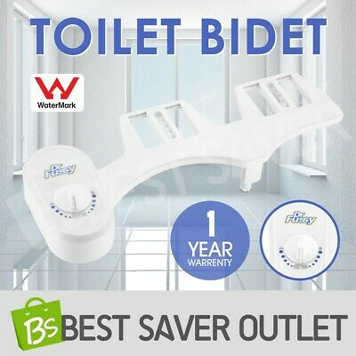 Toilet Bidet Seat Attachment Unisex Water Wash Spray Cleaning Nozzle Adjustable