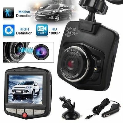 Dash Cam 2.4'' 1080P Full HD Car DVR Video Recorder Night Vision G Sensor SSS+