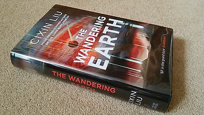 CIXIN LIU    The Wandering Earth   Signed & Limited First Edition UK  No. 45/150