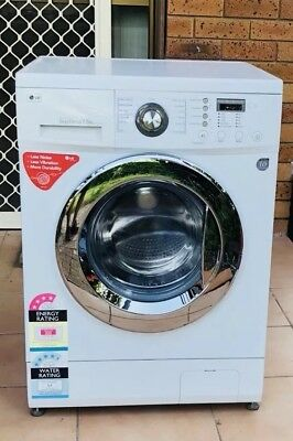 "LG 7.5kg 1300rpm ""Direct drive""front load Washing Machine with 180d warranty"