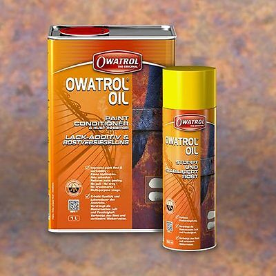 owatrol oil inhibiteur de rouille pénétrante spray 300ml