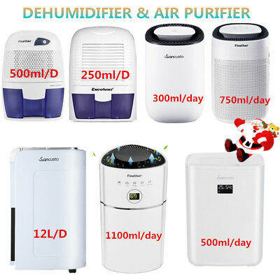 500ML-2.5L Air Dehumidifier Dryer Moisture Damp Home Bathroom Kitchen Bedroom