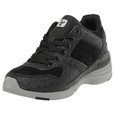 5c71417cd1512a SCARPE FREDDY SNEAKERS Fitness Donna Tacco Interno Nero Glitter ...