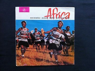 "Africa Music and Life of today (SOUTH AFRICA 12"" LP) LITTLE KID LEX LEFU MOKOENA"