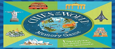 Dean David (Ilt)-Cities Of The World Memory Game GAME NUEVO