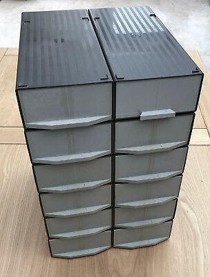 12 Gepe 35 mm Slide Magazines Twin Cassette Vintage Storage Boxes (1200 slides)