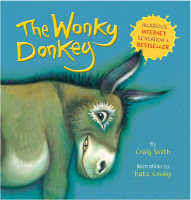 Fun Game Baby Gift Toy The Wonky Donkey Paperback Book for Kid,Child & Toddler