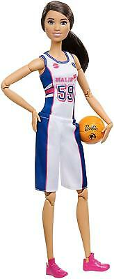NEW IN BOX Barbie Made to Move Basketball Player Doll Articulated Poseable Tall