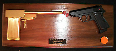 """S.D. Studios 25th Anniversary - """"THE MAN WITH THE GOLDEN GUN - MATCHED DUEL SET"""