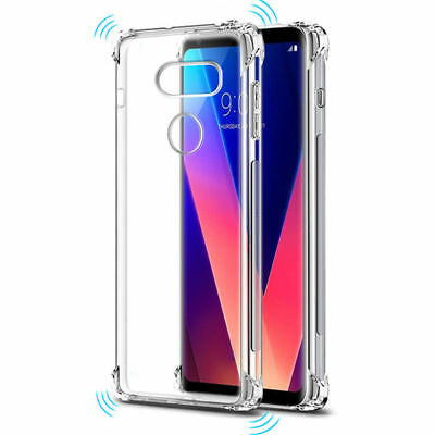 Soft Shockproof TPU Silicone Gel Phone Cover Skin Clear Case For LG OPPO VIVO