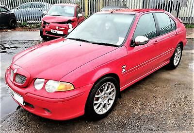 2004 MGZS MG ZS1.8 120 WITH ONLY 55,389 MILES , MOTd 28/5/2019 , LOG BOOK