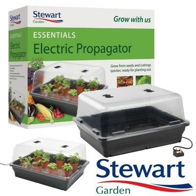 Stewart Essentials Heated Electric Plant Seed Propagator - 52cm FREE POSTAGE