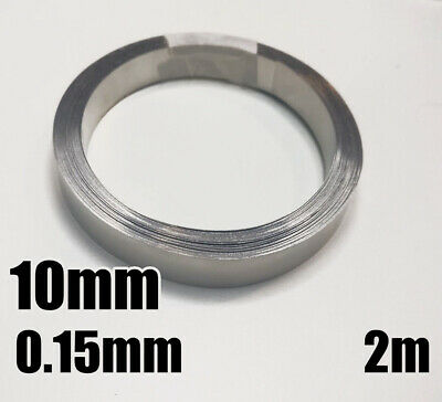 2m Solid Pure Nickel Strap Strip Spot Welding battery 10mm x 0.15mm 10x0.15