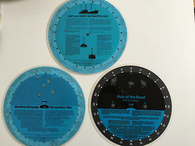 Light and Shape, Maritime Buoyage Recognition Discs, Rule of the Road