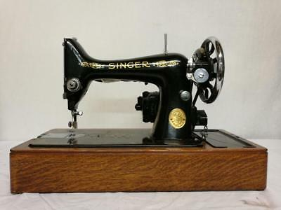 STUNNING VINTAGE SINGER 99k ELECTRIC SEWING MACHINE WITH CARRY CASE.