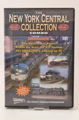 Pentrex Railroad Train DVD - NEW YORK CENTRAL COLLECTION COMBO - S2