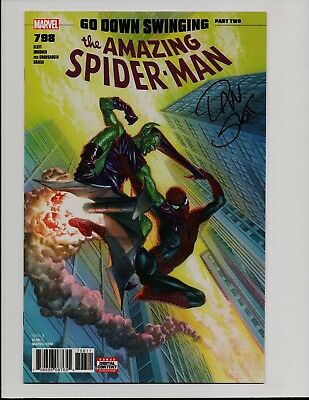 Amazing Spider-Man #798 Signed by Dan Slott 1st Red Goblin Alex Ross Cover X3