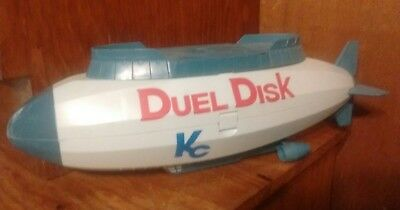 Yu-Gi-Oh duel disk trading card carrying case blimp