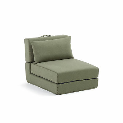 Kave Home Puf cama Arty, verde