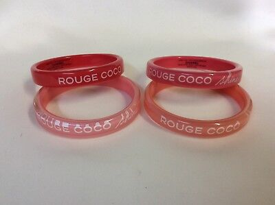 Chanel Bracelet Bangle set of 4 pc VIP Gift Coco Rouge Shine *new* 7384-10