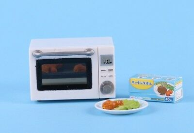 1:6 Scale Miniature Oven Dollhouse Chicken Wings Pan Dinner Mom's Cooking Rement