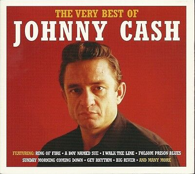 The Very Best Of Johnny Cash - 3 Cd Box Set - Ring Of Fire, Big River & More