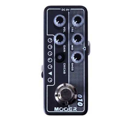 Mooer Micro Preamp - 010 Two Stone New