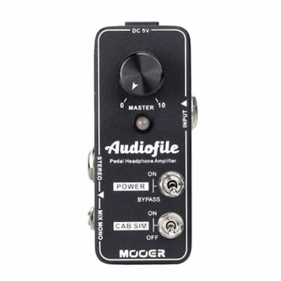Mooer Audiofile Headphone Amp/Cab Simulator pedal  with True Bypass New