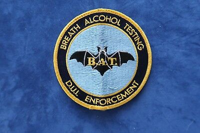 "Used - Dui Dwi Tennessee ""breath Alcohol Testing - Dui Enforcement"" Police Patch"