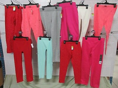 11 Girls Clothes Youth X-Large 14-16 Stretch Pants Sweatpants Red Pink Bulk Lot