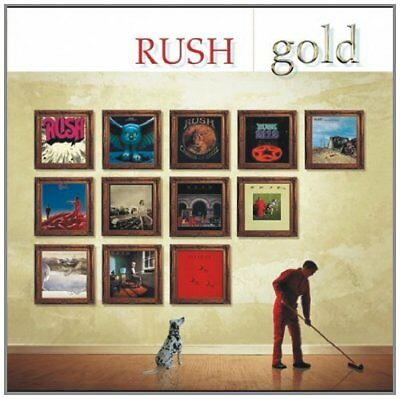 Rush - Gold - Best Of / Greatest Hits - 2CDs Neu & OVP - dig. rem.
