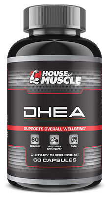 House Of Muscle DHEA - 300mg, Most Potent DHEA, Supports Overall Well-Being