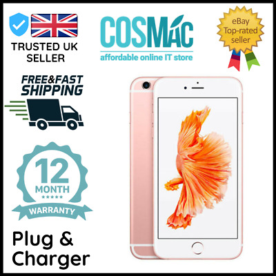 Apple iPhone 6s Plus + 128GB S.Grey (Unlocked Sim Free)  A Grade 12 M Warranty