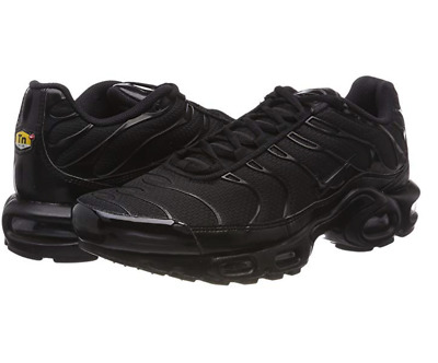 Nike Air Max Tn Plus Squalo Triple Black Originali & nuove con scatolo