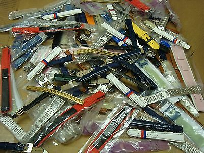 look TRADE JOB LOT OF 50  X MIXED BOX OF  WATCH STRAPs LOOK AT MY FEEDBACKS ?,?/