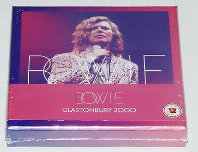 David Bowie Glastonbury 2000 2 x CD,1 X DVD Collectors Set New/Official