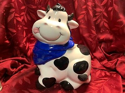 Vintage Collectible Cow Cookie Jar