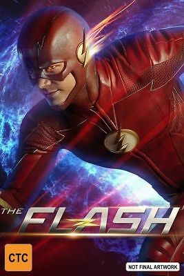 The Flash : Season 4 (DVD, 2018, 5-Disc Set) Brand New Sealed Region 4