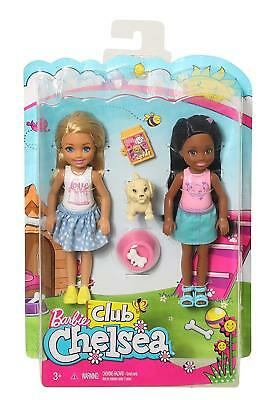Barbie Club Chelsea 2 Doll Pet Playset Fhk97 Brand New In Box