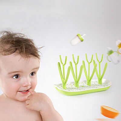 Kitchen Drainer Holder Shelf Pacifier Baby Bottle Drying Rack Nipple Storage