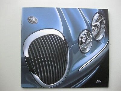 Jaguar S-type prestige brochure Prospekt English text 46 pages UK-version 1999