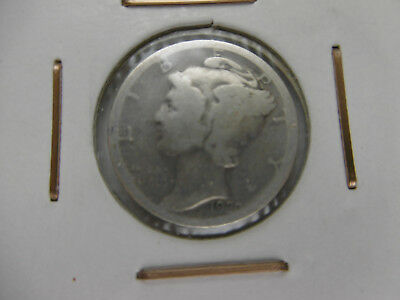 1 One Dime USA 10 Cent Argent 1920